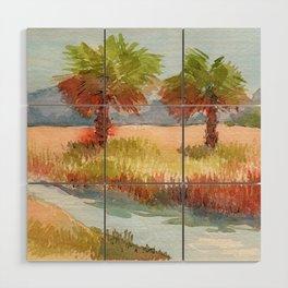Ranch Palms Wood Wall Art