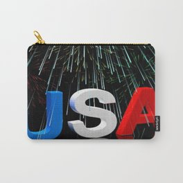 Patriotic USA Sparkler   Carry-All Pouch