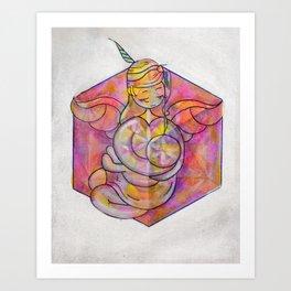 mother-s cube Art Print