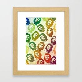 Rainbow Revolution Framed Art Print