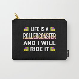 Life Joie De Vivre Roller Coaster Roller Coaster Carry-All Pouch
