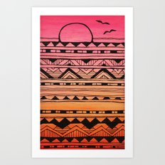 Surf Tribe Art Print