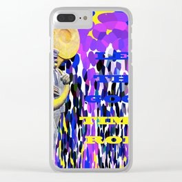 New Orleans Let The Good Times Roll Clear iPhone Case