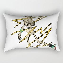 Skeleton basketball dunk Rectangular Pillow