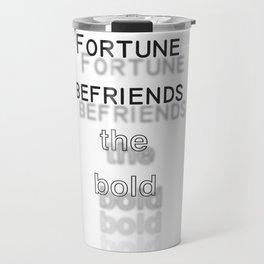 Fortune Travel Mug