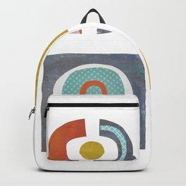 HAA-0121 Cutout Geometrics 47x47 Backpack