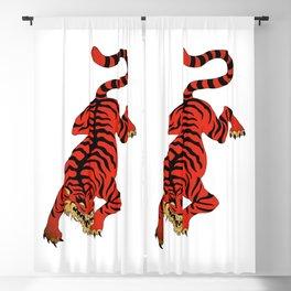 Tattoo Tiger Blackout Curtain