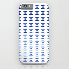 flag of israel - with soft square iPhone Case