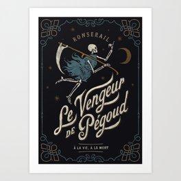 Le Vengeur de Pégoud Art Print