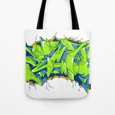 Vecta Wall Smash Tote Bag