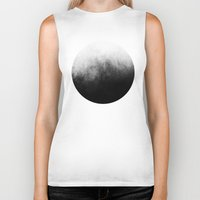 marble Biker Tanks featuring Abstract IV by morenina