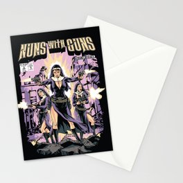Nuns With Guns Stationery Cards