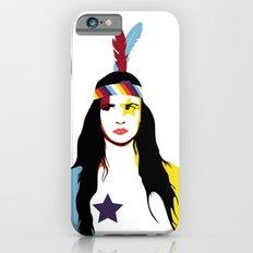 =Juliette Lewis///White= Slim Case iPhone 6s