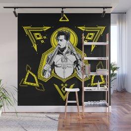 Erik Killmonger Wall Mural
