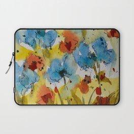 Flowers (watercolor) Laptop Sleeve