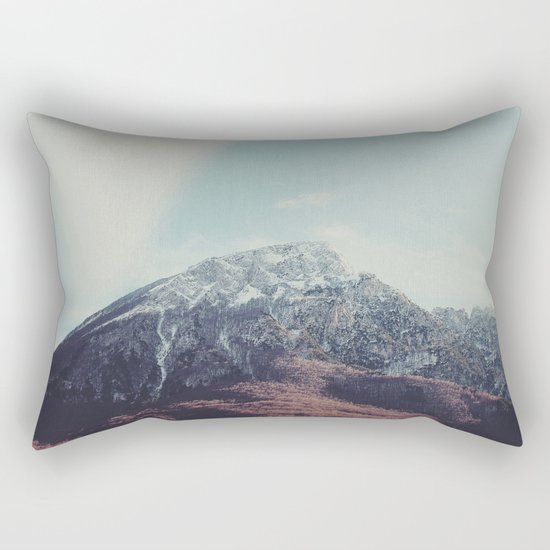 Mountains in the background XIII Rectangular Pillow