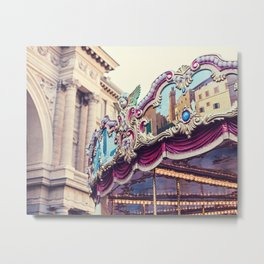 Firenze Carousel Metal Print