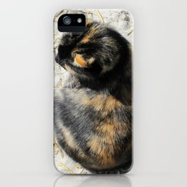 Sand Kitty iPhone Case