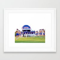 patriots Framed Art Prints featuring Patriots by connor