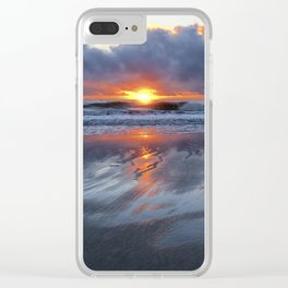 Shining Through Clear iPhone Case