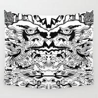 saxophone Wall Tapestries featuring Saxophone Dreams by Jay Baldridge