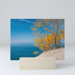 Lake Michigan Vista - Sleeping Bear Dunes Mini Art Print