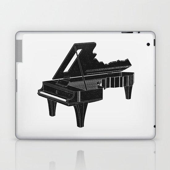 Music Is The Key B Laptop & iPad Skin