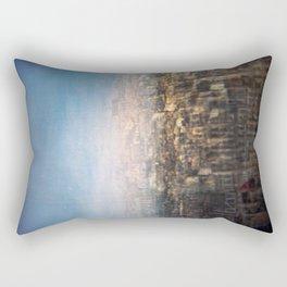 Paris Multiple Exposure  Rectangular Pillow