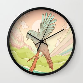 Clockhead (or the Contemplation of Time) Wall Clock
