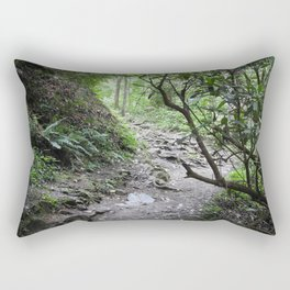 Magical Mountain Path Rectangular Pillow