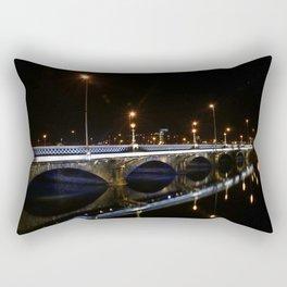 Queens Bridge Belfast Rectangular Pillow