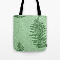 fern Tote Bags featuring Fern by Mr and Mrs Quirynen