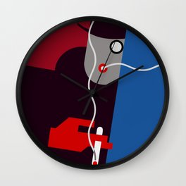Art Deco Smoking Man, 1930s (Vintage Modiano ad Recreated) Wall Clock