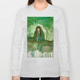 Akka The Earth Goddess Long Sleeve T-shirt
