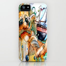 Old Man & The Sea  iPhone Case