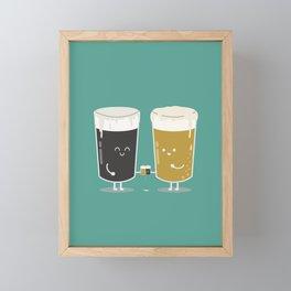 Cheers! Framed Mini Art Print