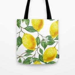 TROPICAL LEMON TREE Tote Bag