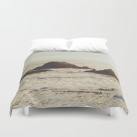 seal Duvet Covers featuring Seal Point by Chelsea Victoria