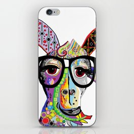 Hipster Goat iPhone Skin