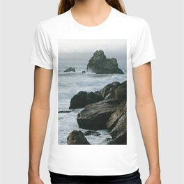 View of San Francisco Bay from Sutro Baths T-shirt