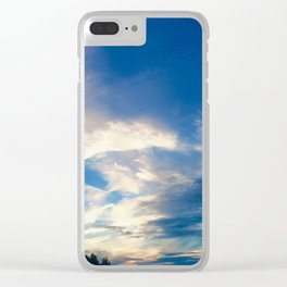 Meet Me There Clear iPhone Case