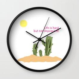 Cactus/Desert_concept_Design Wall Clock