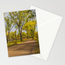 Cottonwoods, Theodore Roosevelt NP, ND 1 Stationery Cards