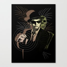 G-Man on Holiday Canvas Print