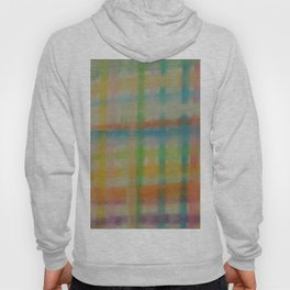Colorful Plaid Hoody