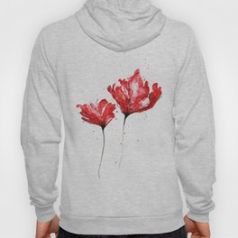 Poppy blooming 3 Hoody