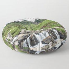 Mt. Rainier, Edith Creek Floor Pillow