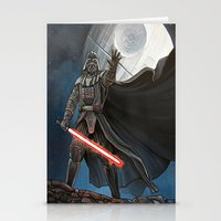 death star Stationery Cards featuring Death Star by Laura-A