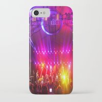 coachella iPhone & iPod Cases featuring Midnight City M83 Coachella by The Electric Blue / Yen-Hsiang Liang (Gr
