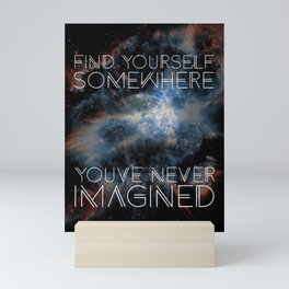 Find Yourself Mini Art Print